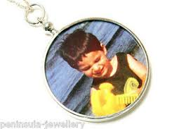 double sided photo frame pendant