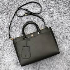 tory burch robinson small leather