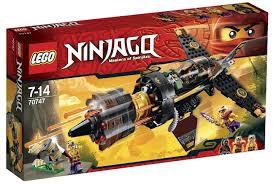 Lego Ninjago 70747 Phi thuyền đá Boulder Blaster
