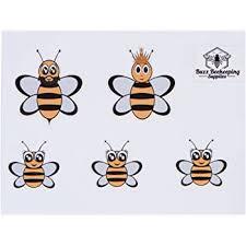 Amazon Com Honey Bee Family Car Stickers Full Color Includes Queen Bee Drone Bee And Baby Honeybee Vinyl Decals Ideal For Beekeepers Garden Outdoor