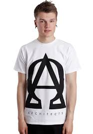 architects omega a white t shirt
