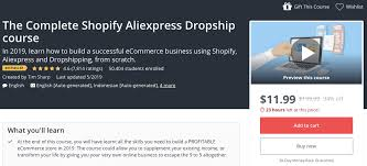 best drop shipping courses updated