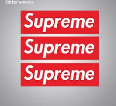 1 100 Pcs Supreme Box Logo Sticker 7 5 X 2 Waterproof Vinyl Decal Red Sticker Sporting Goods Skateboarding Longboarding Stickers Decals Romeinformation It