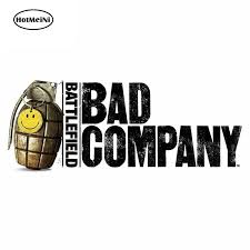 Hotmeini 13cm X 6cm Battlefield Bad Company Funny Car Stickers Waterproof Bumper Decoration Occlusion Scratch Vinyl Car Wrap Car Stickers Aliexpress