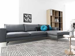 calligaris square minimalist sofa with
