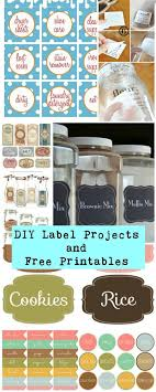 diy free printable labels projects