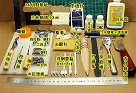tool kit leather hand sewing tool set