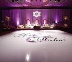 Dance Floor Decal Wedding Wedding Floor Monogram Vinyl Floor Etsy