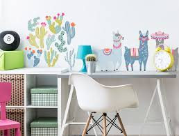 Stickers Pastel Llamas Wall Stickers Pastelowe Love