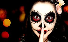 easy sugar skull makeup tutorial for