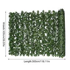 Amazon Com Faux Leaves Privacy Screen Fome Home Maple Leaf Privacy Fence Screen Faux Ivy Privacy Fence Screen Simulated Artificial Plant Leaf Screen Decorative Fence For Outdoor Indoor Decor 3 28x9 84ft Industrial