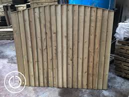 Bow Top Feather Edge Fence Panel Js Fencing Supplies