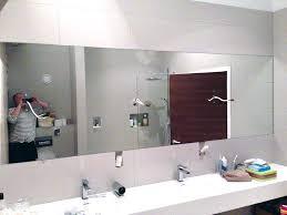 bathroom mirror cut to size bespoke