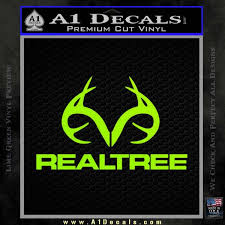 Realtree Decal Sticker Antlers Camo A1 Decals