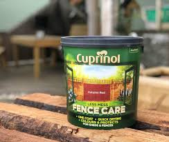 Cuprinol Autumn Red Less Mess Fence Care 6l Woodstoc Outside Made Better