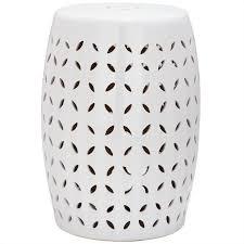 safavieh lattice petal ceramic garden