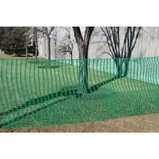 Snow Fencing Green 4ft X 100 Ft Construction Safety Barrier Fence Temporary Ebay
