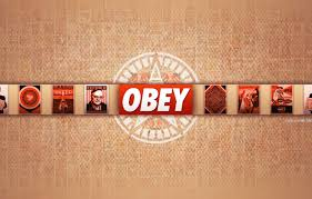 wallpaper wallpaper red obey images