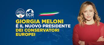 GiorgiaMeloni ECR