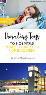 7 tips for donating toys to hospitals