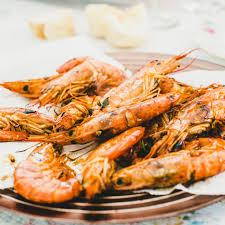 Grilled Garlic Butter Shrimp Recipe
