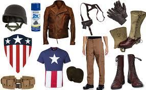 wwii captain america costume carbon