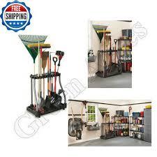 rack garage tool storage organizer