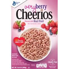 very berry cheerios gluten free cereal