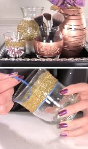 diy makeup storage ideas and hacks