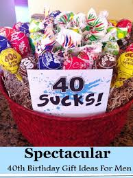 gifts for men 40th birthday