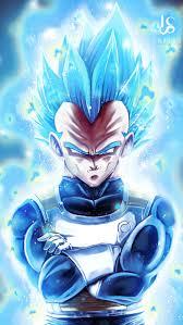 vegeta super saiyan blue dragon ball z