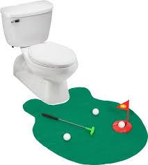 ez drinker toilet golf putter practice