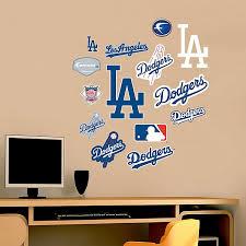 Fathead Mlb Los Angeles Dodgers Logo Sheet Junior Wall Graphic Bed Bath Beyond