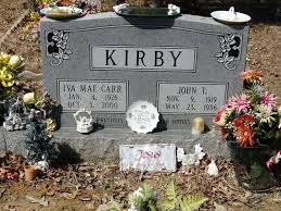 Iva Mae Carr Kirby (1926-2000) - Find A Grave Memorial