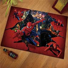 60x40cm Spiderman Children Welcome Floor Mats Baby Play Mat Print Bathroom Kitchen Carpets Doormats For Living Room Kids Rugs Play Mats Aliexpress