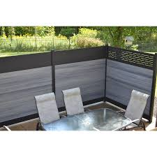 Infinity 0 41 Ft H X 6 Ft W Oxford Grey Composite Composite Fence Panel In The Composite Fence Panels Department At Lowes Com