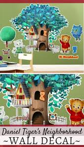 Daniel Tiger S Neighborhood Giant Wall Decal For Kids Room Or Playroom Affiliate Link Kids Wall Decals Daniel Tiger S Neighborhood Toddler Boy Fashion