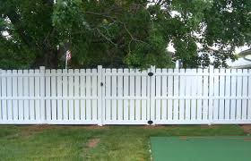 Dog Eared Top Semi Privacy Fence Contractor Mt Hope Fence