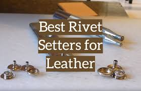 rivet setters for leather craft