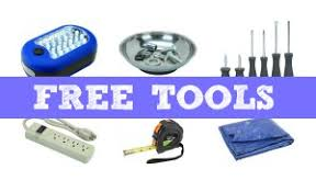harbor freight free tools with
