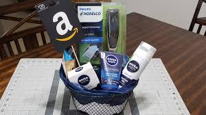 diy gift basket for him