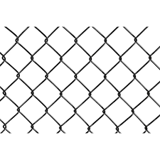 5 Ft H X 50 Ft L 9 Gauge Black Vinyl Coated Steel Chain Link Fence Fabric In The Chain Link Fence Fabric Department At Lowes Com