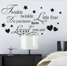 Kids Bedroom Wall Stickers Childrens Baby Decorations Home Vinyl Quotes Decals For Sale Online