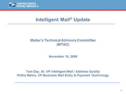 Mail Entry and Payment Technology MTAC Pritha Mehra VP Mail Entry & Payment  Technology February 17, ppt download