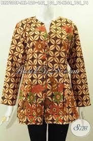 36 model tunik batik terbaru 2021 (modern & cantik). Model Baju Batik Atasan Wanita Lengan Panjang Terbaru Toko Batik Online 2021