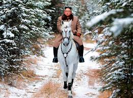 Kim rides horse on sacred peak, vows to fight U.S. sanctions:The ...
