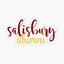 Salisbury University Alumni Sticker By Swagner96 Redbubble