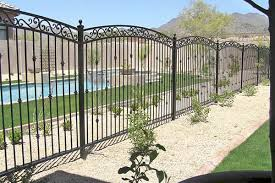 Wrought Iron Pool Safety Fences Phoenix Sun King Fencing