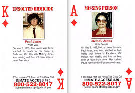 Tips sought: OSBI playing cards include unsolved 1983 Earlsboro Cold Case -  News - - ,
