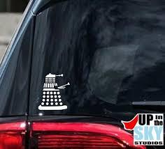 Doctor Who Dalek Vinyl Decal Bumper Sticker Etsy